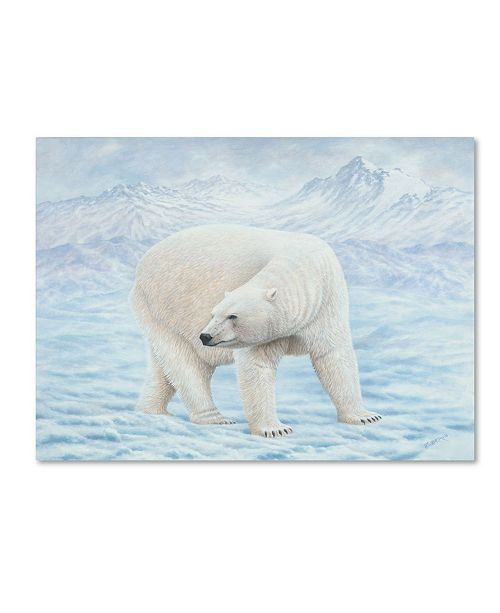 """Trademark Global Robert Wavra 'Looking Back' Canvas Art - 24"""" x 18"""" x 2"""""""
