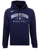 e9559c77ab5 Nike Men s Minnesota Timberwolves Team Crest Hoodie
