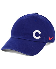 Nike Women's Chicago Cubs Offset Adjustable Cap