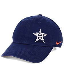 Nike Women's Houston Astros Offset Adjustable Cap