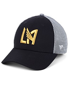 Authentic MLS Headwear Los Angeles Football Club Versalux Speed Flex Stretch Fitted Cap
