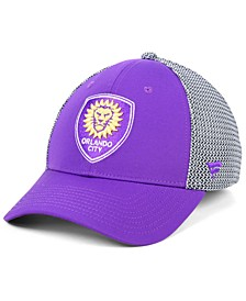 Authentic MLS Headwear Orlando City SC Versalux Speed Flex Stretch Fitted Cap