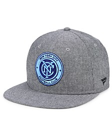Authentic MLS Headwear New York City FC Chambray Snapback Cap