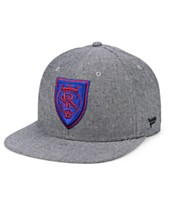ea9d38cdb9d Authentic MLS Headwear Real Salt Lake Chambray Snapback Cap