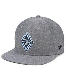 Authentic MLS Headwear Vancouver Whitecaps FC Chambray Snapback Cap
