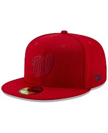 New Era Boys' Washington Nationals Clubhouse 59FIFTY-FITTED Cap