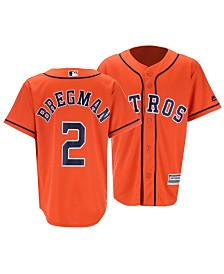 Majestic Big Boys Alex Bregman Houston Astros Player Replica Cool Base Jersey