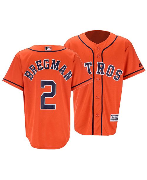 finest selection fe543 28fe7 Big Boys Alex Bregman Houston Astros Player Replica Cool Base Jersey
