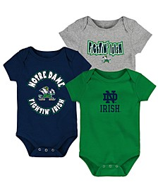 Baby Notre Dame Fighting Irish Everyday Fan 3 Piece Creeper Set