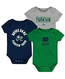 Baby Notre Dame Fighting Irish Everyday Fan 3 Piece Creeper Set