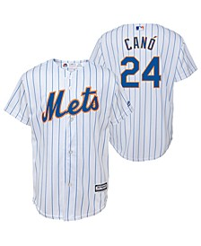 Big Boys Robinson Cano New York Mets Player Replica Cool Base Jersey