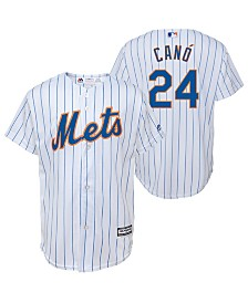 Majestic Big Boys Robinson Cano New York Mets Player Replica Cool Base Jersey