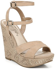 Fergie Bold Wedge Sandals
