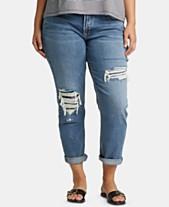 03c8132fa46 Plus Size Boyfriend Jeans  Shop Plus Size Boyfriend Jeans - Macy s