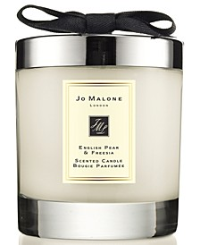 English Pear & Freesia Home Candle, 7.1-oz.