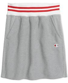 Champion Ribbed Striped Short Skirt