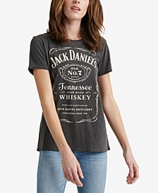 Cotton Jack Daniels Whiskey Graphic T-Shirt