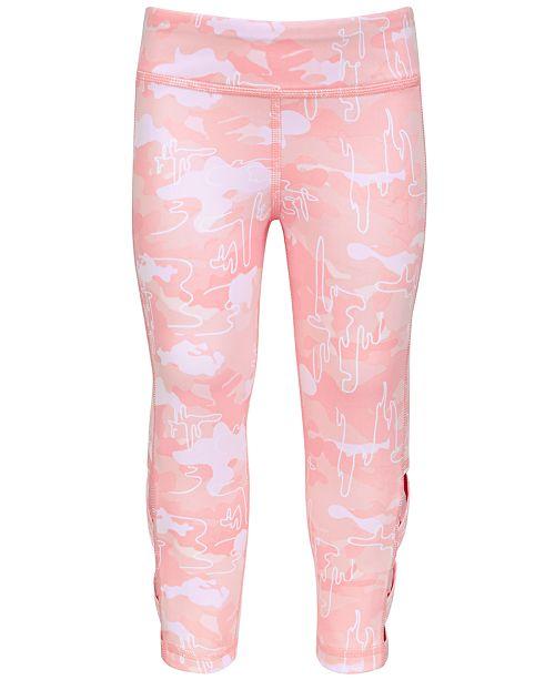 Ideology Little Girls Cage Capri Leggings, Created for Macy's