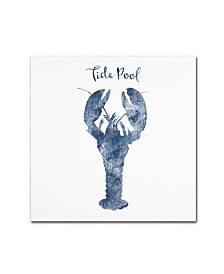 "Tina Lavoie 'Lobster Tide Pool' Canvas Art - 18"" x 18"" x 2"""