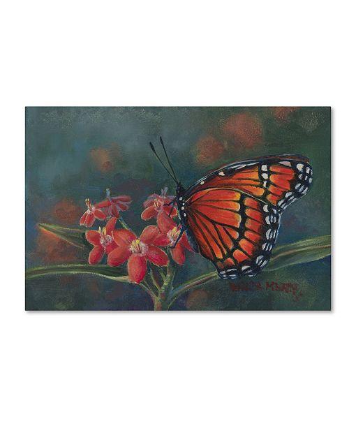 "Trademark Global Wanda Mumm 'Monarch' Canvas Art - 24"" x 16"" x 2"""