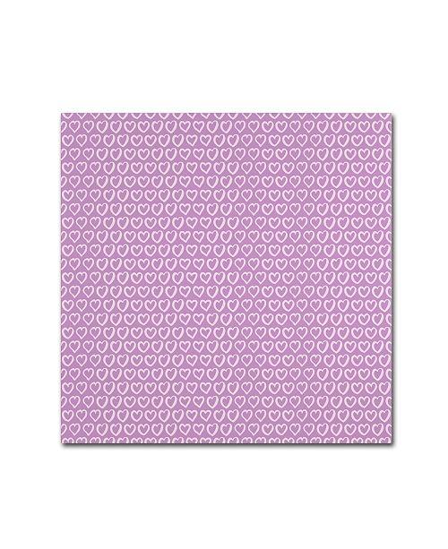 "Trademark Global Yachal Design 'Dancing Petals 1000' Canvas Art - 24"" x 24"" x 2"""
