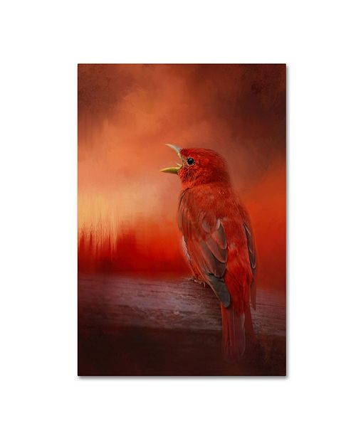 "Trademark Global Jai Johnson 'Sunset Song' Canvas Art - 32"" x 22"" x 2"""