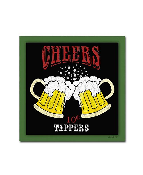 """Trademark Global Jean Plout 'Beer 4' Canvas Art - 35"""" x 35"""" x 2"""""""