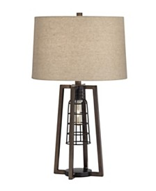 Pacific Coast 2 Light Caged Table Lamp