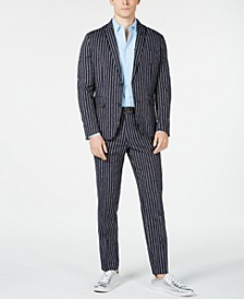 INC Men's Slim-Fit Striped Blazer, Created for Macy's