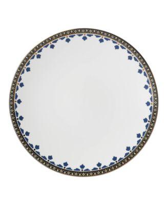 Global Tapestry Sapphire Spiro Dinner Plate