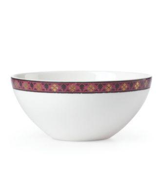 Global Tapesetry Garnet Mandala  Dip Bowl