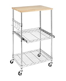 Supreme Rolling Microwave Cart