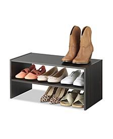 Extra Wide 2-Shelf Storage Organizer