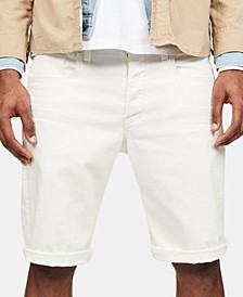 Men's Tapered-Fit 3301 Shorts, Created for Macy's