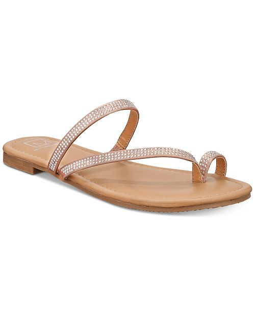 Material Girl Eviee Flat Sandals, Created for Macy's