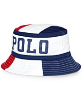 11a749e14 Polo Ralph Lauren Men s Twill Chariots Bucket Hat