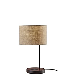 Oliver Wireless Charging Table Lamp