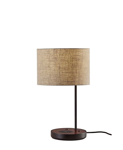Adesso Oliver Wireless Charging Table Lamp Reviews Home