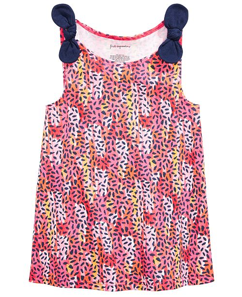 First Impressions Toddler Girls Animal-Print Tank Top, Created for Macy's
