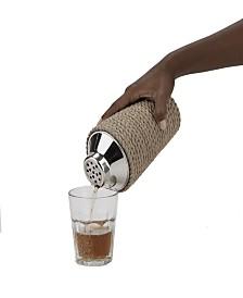 Mind Reader Stylish Cocktail Shaker for Home Bar 24 Oz.