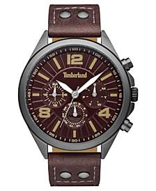 Men's Ferrisburg Multifunction Dark Brown/Gunmetal Watch