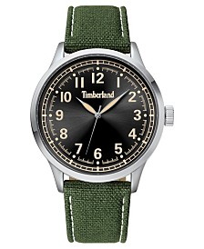 Timberland Men's Alford Green/Silver/Black Watch