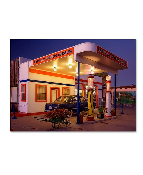 "Trademark Global Mike Jones Photo 'Williams Pete's Museum' Canvas Art - 24"" x 18"" x 2"""