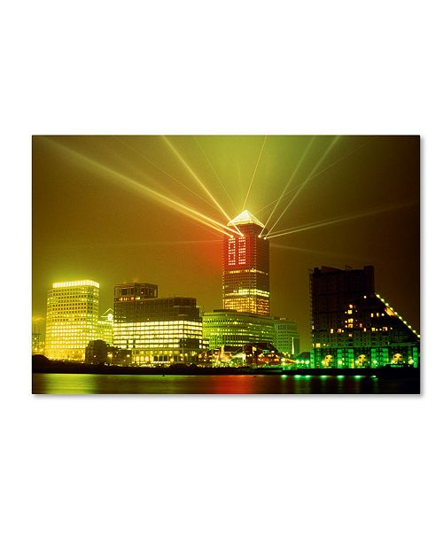 "Trademark Global Robert Harding Picture Library 'Skyscrapers 1' Canvas Art - 19"" x 12"" x 2"""