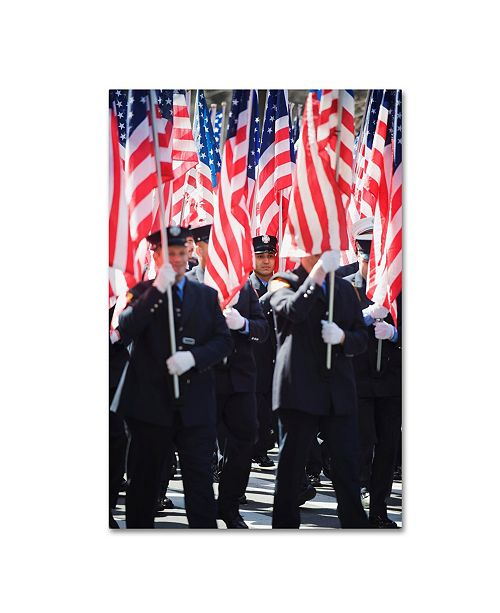 """Trademark Global Robert Harding Picture Library 'Flags 1' Canvas Art - 32"""" x 22"""" x 2"""""""