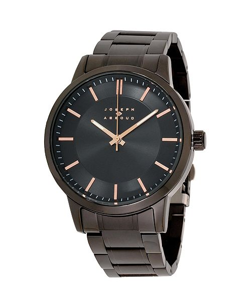 Joseph Abboud Men's Analog Rose Gold Case Watch