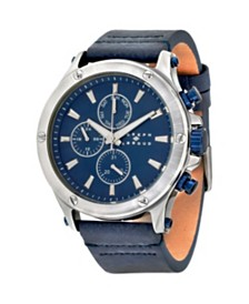 Joseph Abboud Men's Analog Leather Watch