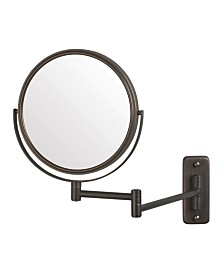 "The Jerdon JP7506BZ 8"" Two-Sided Wall Mount Mirror"