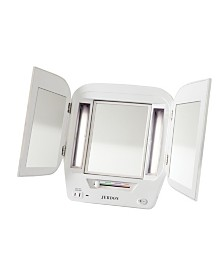 The Jerdon JgL12W Lighted Makeup Mirror