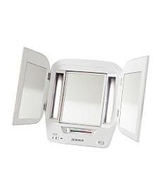 The Jerdon JgL12W Lighted Makeup Mirror